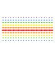 acquisition handshake shape halftone spectral vector image vector image