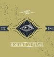 all seeing eye of horus vector image vector image
