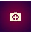 ambulanse icon Flat design style vector image vector image
