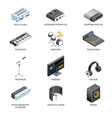 communication devices and connection adapters or vector image vector image