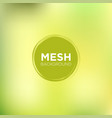 lemon and lime mesh background vector image vector image