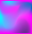 neon holographic colorful background vector image