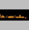 asuncion light streak skyline