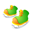 icon skate vector image vector image