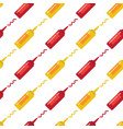 mustard and ketchup seamless pattern vector image