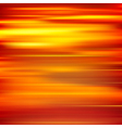 abstract red yellow motion blur background vector image