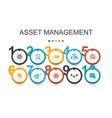 asset management infographic design templateaudit