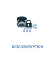 data encryption icon in two colors premium design vector image