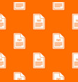 file txt pattern seamless vector image vector image