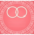 Ornamental background for wedding invitation