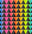 spectrum triangle seamless pattern vector image vector image