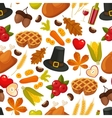 thanksgivin day seamless backgroundsymbols vector image vector image