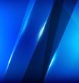blue mirror overlap vector image