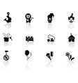 circus symbols vector image