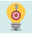 idea target icon vector image