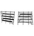 scaffolding vector image vector image