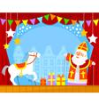 Sinterklaas puppets vector image vector image