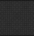 tile black and grey pattern vector image vector image