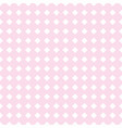 tile pink background or seamless pattern vector image vector image