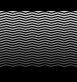 wavy zigzag lines pattern horizontally seamlessly vector image
