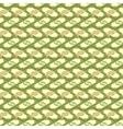 Seamless money pattern vector image