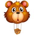 a brown bear balloon