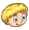 A young boy vector image vector image