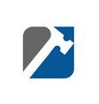 hammer logo icon design