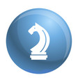 horse chess icon simple style vector image