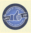 Like us Icon icon social networks