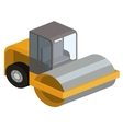 machinery construction isometric isolated icon vector image vector image