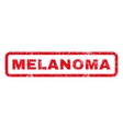 Melanoma Rubber Stamp vector image