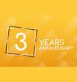 3 years anniversary emblem anniversary icon