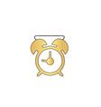 alarm clock computer symbol vector image vector image