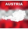 Austrian Abstract Map vector image vector image
