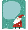 Christmas card with copy space vector image vector image