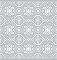 eastern white seamless pattern vector image
