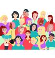 group of women flat vector image vector image