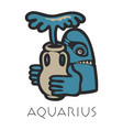 Lmage of aquarius astrological sign of zodiac
