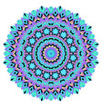 mandala on a white background vector image vector image