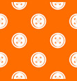 plastic button pattern seamless vector image vector image
