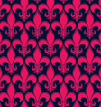 Retro artistic seamless pattern with decorative vector image vector image