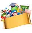 school graduation concept vector image