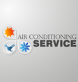 symbol repair air conditioning vector image vector image