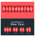 timer clocks watch stopwatch countdown vector image vector image