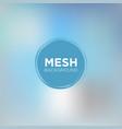 carolina blue mesh background vector image vector image