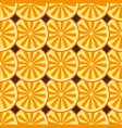 orange fruit seamless brown pattern vector image vector image