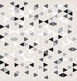 pattern background triangle retro vintage design vector image