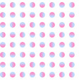 seamless circle pattern gradient dot art vector image