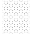 seamless pattern white dots vector image vector image